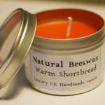 Natural Beeswax Candle - Wa..